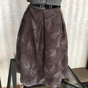Talbots Silk Skirt.